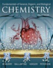 NEW - Fundamentals of General, Organic, and Biological Chemistry (8th Edition)