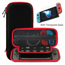 Ztotop Case and Tempered Glass Screen Protector for Nintendo Switch hold 10 game