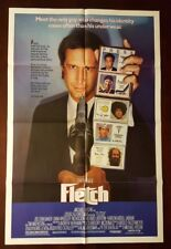 Fletch (1985) original folded movie poster - Chevy Chase 27x41