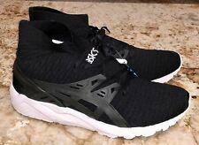ASICS Gel Kayano Trainer Knit MT Black White Shoes Sneakers Mens 10 10.5 11 12