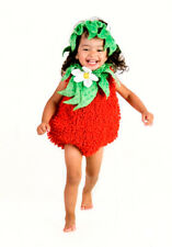 Girls Infant Toddler Strawberry Halloween Costume