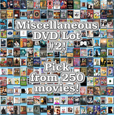 Miscellaneous DVD Lot #2: DISC ONLY - Pick Items to Bundle and Save!