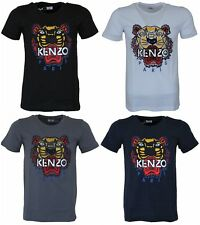 New Season Men's Kenzo Paris Tiger Emboridered Tshirts 4 Colors All Sizes #VGNZA