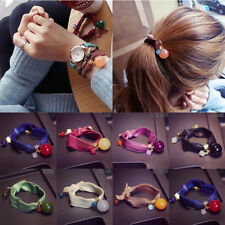 NEW Korean Style Womens Candy Colors Hair Band Rope Scrunchie Ponytail Holder