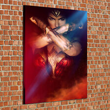 HD Print Oil Painting Home Decor on Canvas Wonder Woman Multiple Size Options