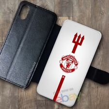 NEW!Manchester85!United758!Wallet Case iPhone X 7/8 Plus 6S Samsung S9+ S8 Cases