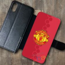 NEW!Manchester97!United578!Wallet Case iPhone X 7/8 Plus 6S Samsung S9+ S8 Cases