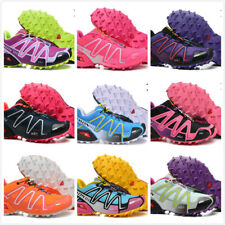 Women's Running Shoes Salomon Speedcross 3 Outdoor Hiking Sneakers Athletic NEW