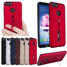 Shock Proof Hard Back Ring Stand Phone Case Cover For Huawei P20 Lite Pro P10 Y7