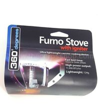 360 DEGREES FURNO STOVE COMPACT CAMPING CANISTER STOVE WITH / WITHOUT IGNITER
