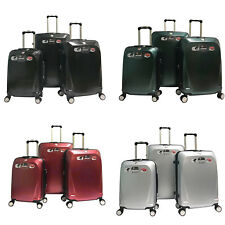 3× Ginza Travel Spinner Luggage Set Polycarbonate Hardshell Lightweight TSA Lock