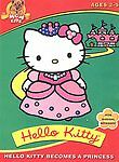 Hello Kitty Becomes A Princess Five Magical Episodes DVD IN PERFECT CONDITION!