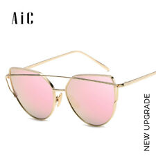 AiC Sunglasses Women 2018New Cat eye Sun glasses Brand Designer Mirror Glasses