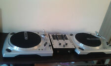 Double decks vinyl Dj turntables northern Soul Numark TT1650 & Mixer M101