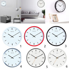 Large Simple Silent Non-ticking Round Wall Clock Easy to Read Wall Clock