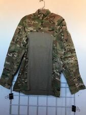 Multicam Army Combat Shirt Type II ACS LARGE Flame Resistant 1/4 Zippered NWOT