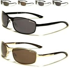 DESIGNER SUNGLASSES SPORT METAL PILOT WRAP GOLF RUNNING SQUARE UV400 MENS LADIES
