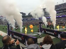 2 tickets - Washington Redskins at Baltimore Ravens. 3rd row by the tunnel! 8/30