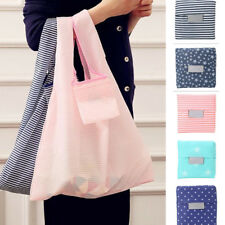 Foldable Shopping Handbags Grocery Bags Large Capacity Reusable Supermarket Tote