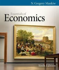 ESSENTIALS OF ECONOMICS By N. Gregory Mankiw - Hardcover **BRAND NEW**