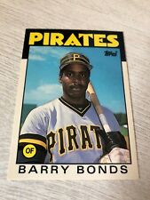1986 Topps Tiffany Traded #11T Barry Bonds RC Rookie Near Mint