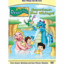 DRAGON TALES - EXPERIENCE NEW THINGS! AMAZING DVD IN SHRINK WRAP!DISC AND