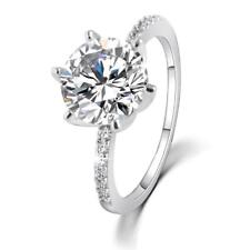 High Quality Fashion Engagement Ring For Women Crystal Cubic Zirconia Materials