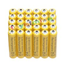 AAA 1800mAh 3A 1.2 V Ni-MH Yellow Rechargeable Battery Cell for MP3 RC Toys