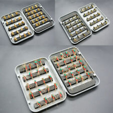 40pcs Lures in Waterproof Fly Box - Trout Fly Fishing Flies - Insects Flies