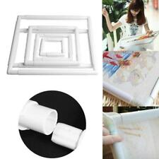 Embroidery Frame Cross Stitch Plastic Hoop Square Clip Tools Rectangle Sewing