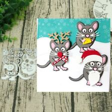 Mouse Metal Cutting Dies Stencil for DIY Scrapbooking Photo Album Embossing