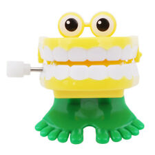 Dental Tooth Dentist Wind-up Gift Plastic Tooth Clockwork Toys Gag Gift G