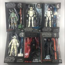 "Lot 6"" Star Wars Hasbro Black Series Darth Maul/BOBA Fett/Clone  Action Figure"
