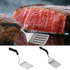 Various Stainless Steel Burger/Fish Slice Slotted Turner Spatula Kitchen BBQ