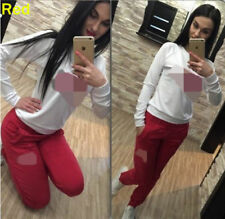Hot Women Tracksuit Hoodies Sweatshirt Pants Sets Sport Wear Zipper Casual Suit