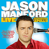 Jason Manford Live at the Manchester Apollo 2009 DVD - Live Stand Up New/Sealed