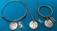 Personalized Hair Stylist Necklace Beauty Keychain Love is in the Hair Charm