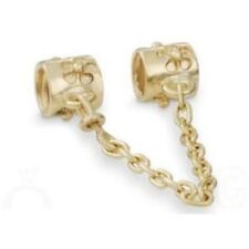 PANDORA 14 Karat Gold Flower Safety Chain (5 cm) 750312-05