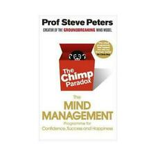 The Chimp Paradox by Dr Steve Peters (PAPERBACK BOOK) *NEW* 9780091935580
