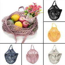 Ecology Reusable Organic Mesh Grocery Shopping Produce Net Bag Market String Bag