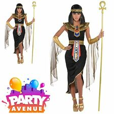 Adults Egyptian Queen Goddess Cleopatra Women Fancy Dress Costume