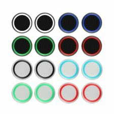 4pcs Silicone Analog Thumb Stick Grips Cover for Xbox 360 One Playstation 4 PS4