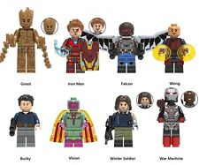 Lego Custom SuperHeroes Marvel MCU Single Sale Bricktober Minifigures