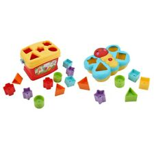 Baby Matching Shape Building Blocks Puzzle Children Graphics Recognition Toy
