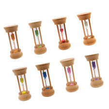 3 Mins Sand Egg Timer Teaching Games Teeth Brushing Timing Hourglass 8 Color