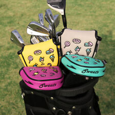 Colorful Putter Cover Magnetic Mallet Golf Head Cover for Odyssey TaylorMade New