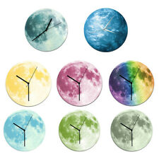 LARGE INDOOR GARDEN DECORATIVE WALL CLOCK WALL HANGING DECOR STICKER 12INCH
