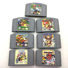 N64 SUPER Mario series Game Card Video Cartridge for Nintendo 64 - USA Version