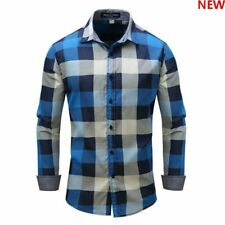 Luxury Casual Long Sleeve 100% Cotton Slim Fit Casual Fashion New Dress Shirts