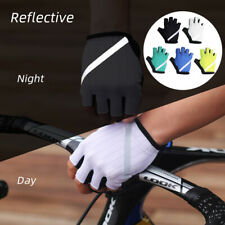 Half Finger Cycling Gloves MTB Road Bike Bicycle Breathable Elastic Mittens